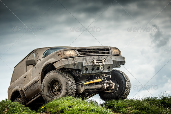 Off road car - Stock Photo - Images