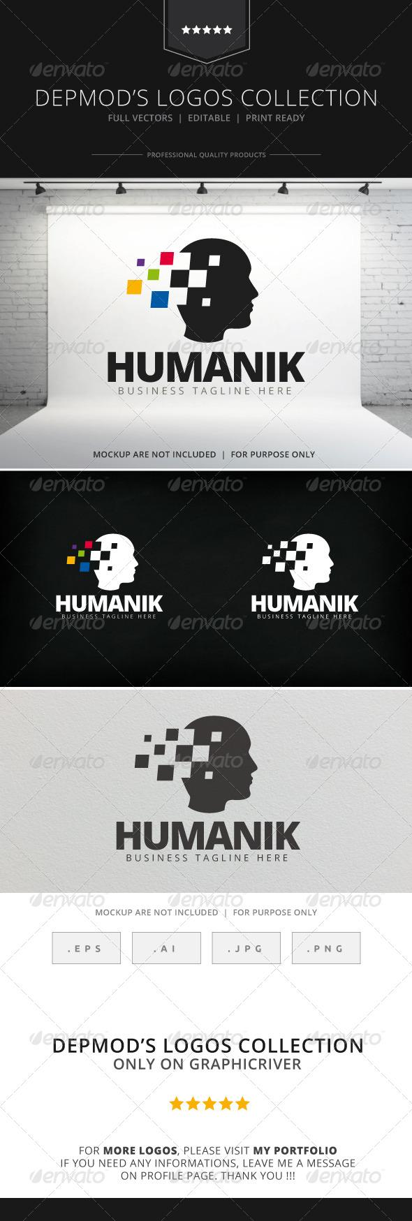 Humanik Logo - Humans Logo Templates