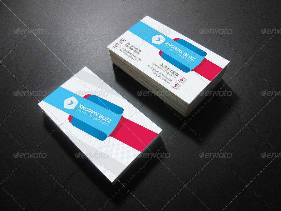 Transport business card by axnorpix graphicriver transport business card colourmoves