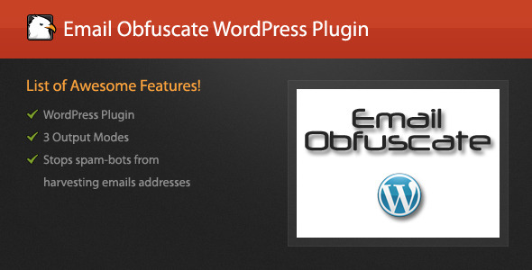 WordPress/jQuery Email Obfuscate Plugin - CodeCanyon Item for Sale