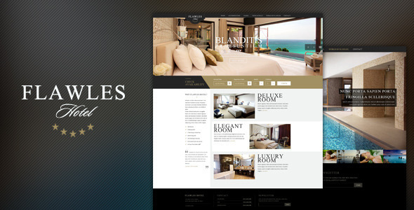 FlawlesHotel – Online Hotel Booking Template