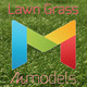 Realistic Lawn Grass - 3DOcean Item for Sale