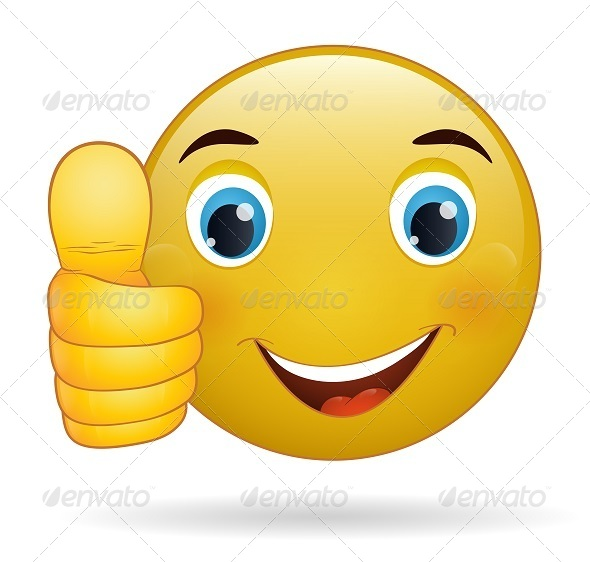 Thumbs Up Emoticon By Ramcreativ Graphicriver