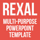 Rexal Multi-purpose Powerpoint Template - GraphicRiver Item for Sale