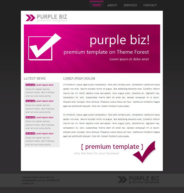Free Download Purple Biz Pack Nulled Latest Version