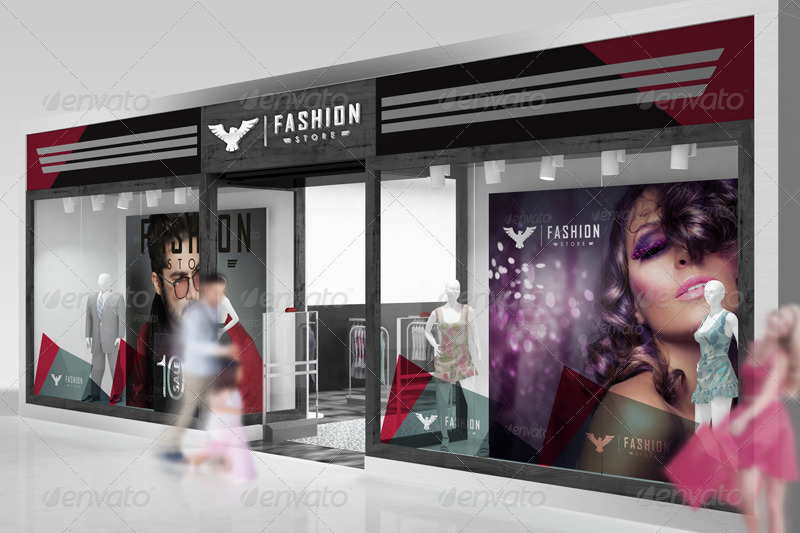 The Mockup Branding For Fashion Store By Wutip GraphicRiver