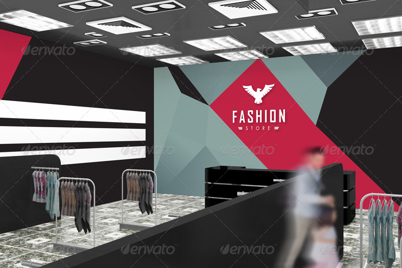 08 The Mockup Branding For Fashion Store