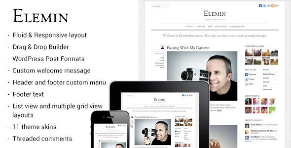 Elemin – Elegant Minimal Responsive Theme