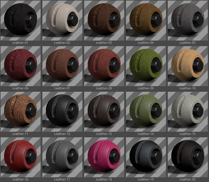 Standard Clothes Material Pack-AIO for Cinema 4D