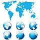 Globe Earth - GraphicRiver Item for Sale
