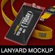 Photorealistic Lanyard/Badge Mockup - GraphicRiver Item for Sale