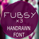 Fubsy Extended Handrawn Font - GraphicRiver Item for Sale