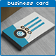 Oblique Style Business Card - GraphicRiver Item for Sale
