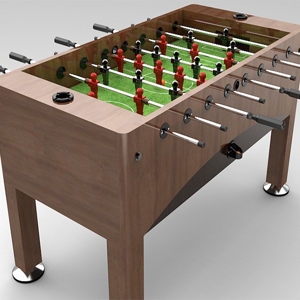 Soccer Table - 3DOcean Item for Sale