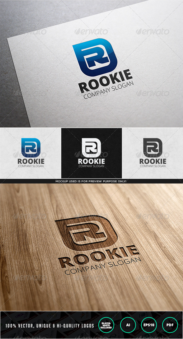 Rookie Logo Template - Letters Logo Templates