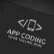 App Coding Logo - GraphicRiver Item for Sale