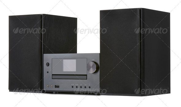 Network receiver system - Stock Photo - Images