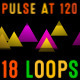 Particles Pulse at 120bpm VJ Pack - VideoHive Item for Sale