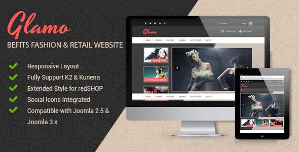 JSN Glamo – Befits fashion & Retail websites