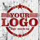Grunge Wall Logo Mock-up - GraphicRiver Item for Sale