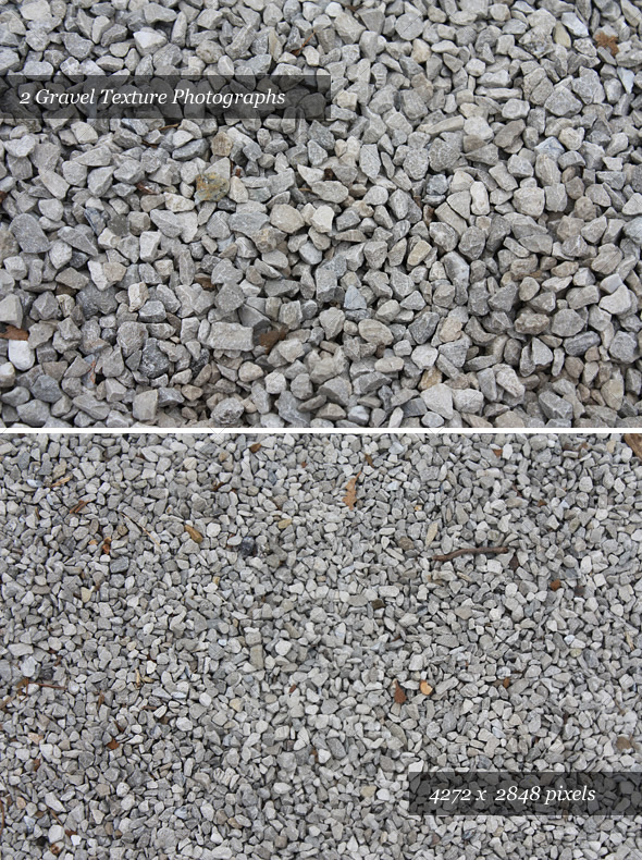 Huge Gravel Textures (Pack of 2) - Stone Textures