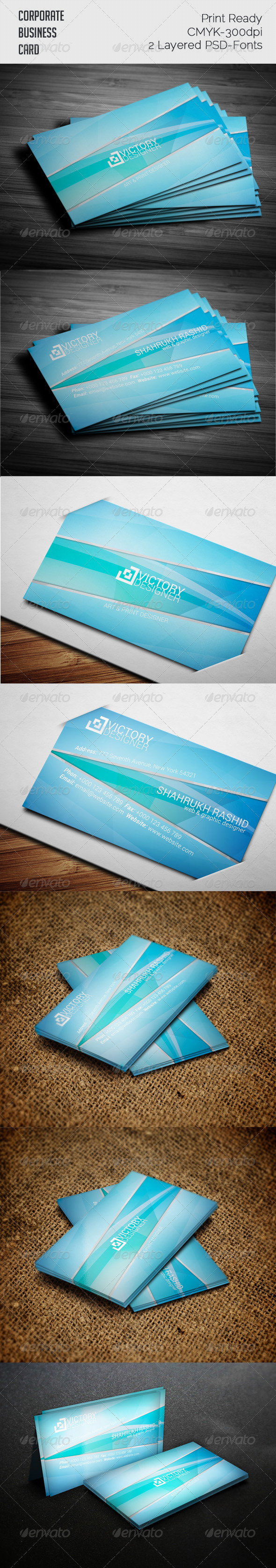 Clean Business Card - Real Objects Business Cards