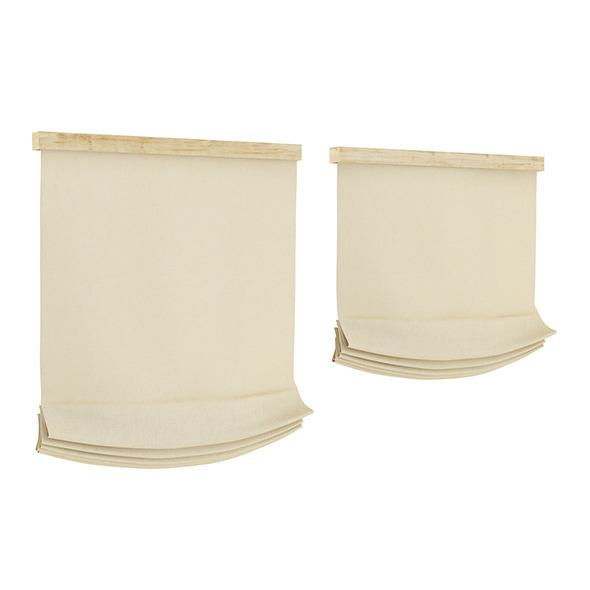 Beige Window Blinds - 3DOcean Item for Sale