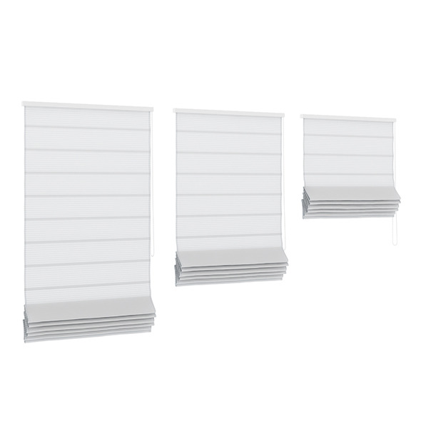 White Roman Blinds - 3DOcean Item for Sale