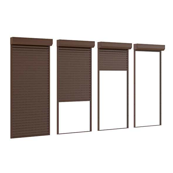 Narrow Roller Shutters - 3DOcean Item for Sale