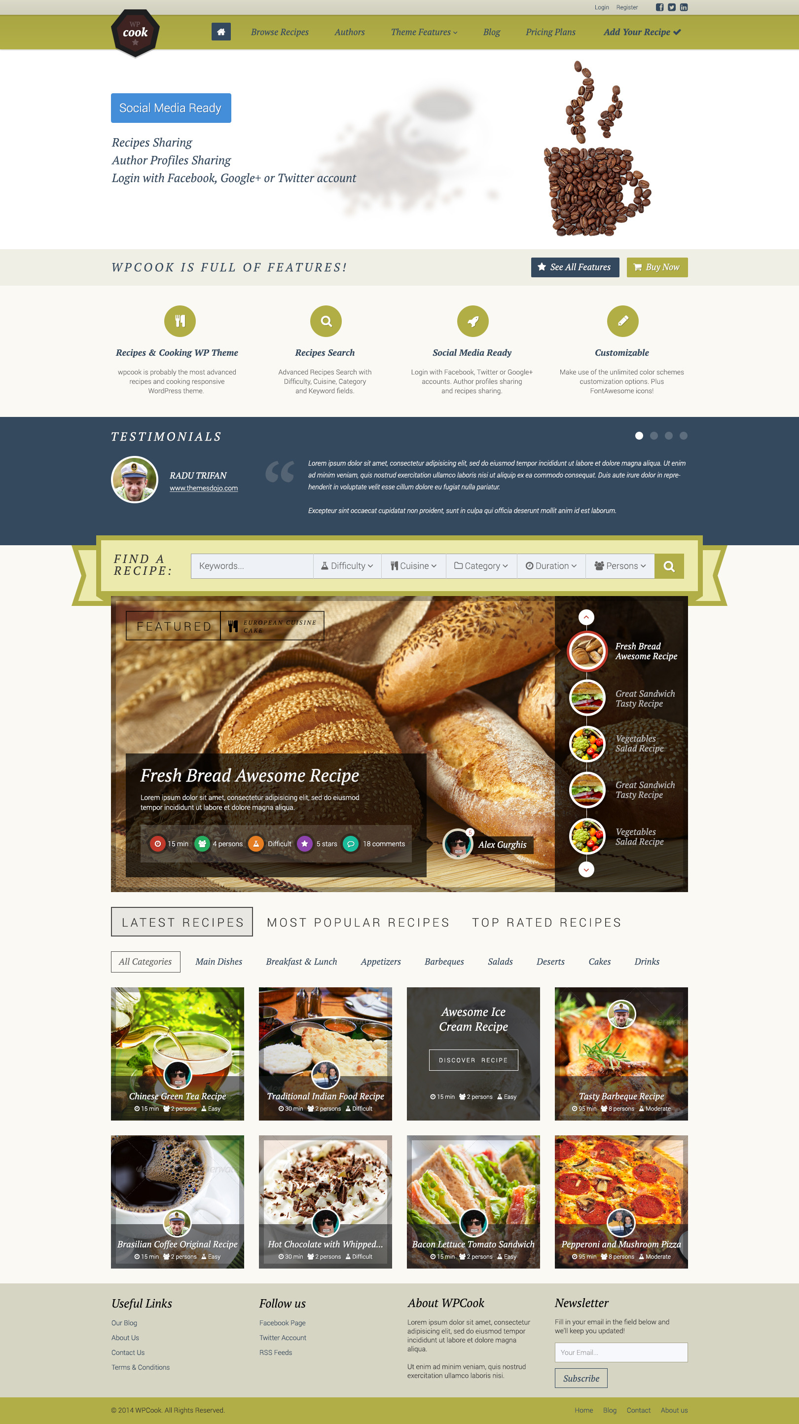Psdcook recipes cooking psd design by themes dojo themeforest previewswpcook frontpageg previewswpcook recipeg previewswpcook registerg previewswpcook search resultsg previewswpcook shopg forumfinder
