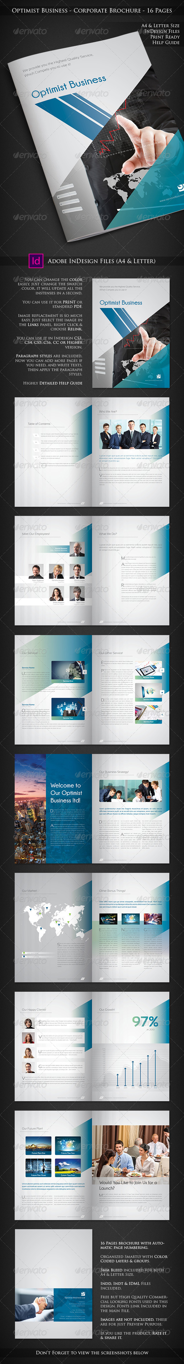 Optimist Business - Corporate Brochure - Corporate Brochures