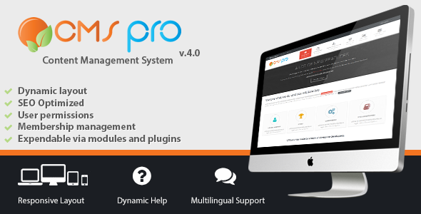 CMS pro - Content Management System - CodeCanyon Item for Sale