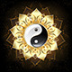 YinYang(Yin-Yang) Golden Lotus - GraphicRiver Item for Sale