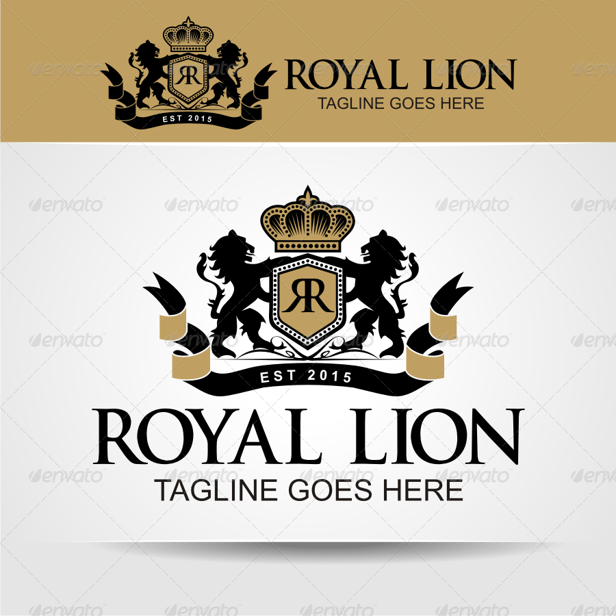 royal lion by herulogo graphicriver
