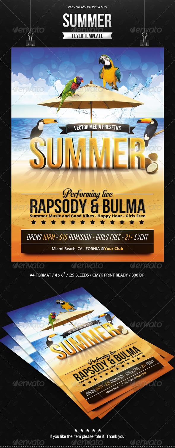 Summer - Flyer