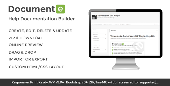 Documente - Help Documentation Builder - CodeCanyon Item for Sale