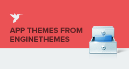 PSDs & WordPress App Themes from EngineThemes