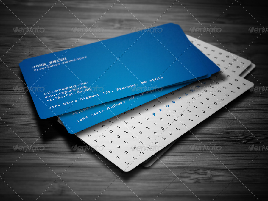 Creative Programmer Business Card 28 By Nazdrag