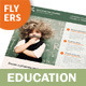 Education Flyers – 2 Options - GraphicRiver Item for Sale