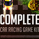 Complete Car Racing Game Kit - GraphicRiver Item for Sale