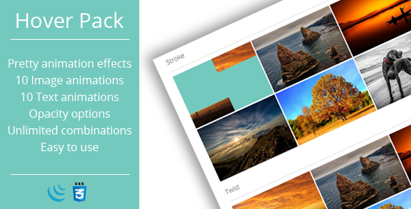 Hover Effects Pack - JavaScript Plugin - CodeCanyon Item for Sale