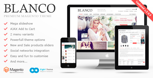 Blanco – Fluid Responsive Magento Theme