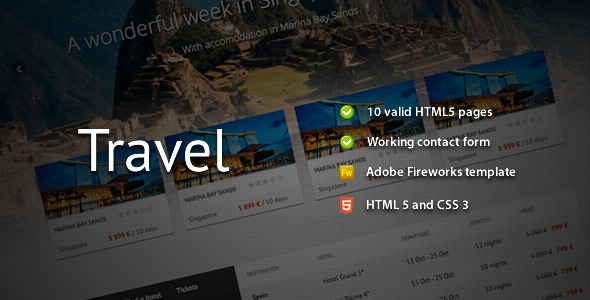 Free Download Travel - Premium HTML Template Nulled Latest Version