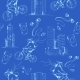 Blueprint City Seamless Pattern - GraphicRiver Item for Sale