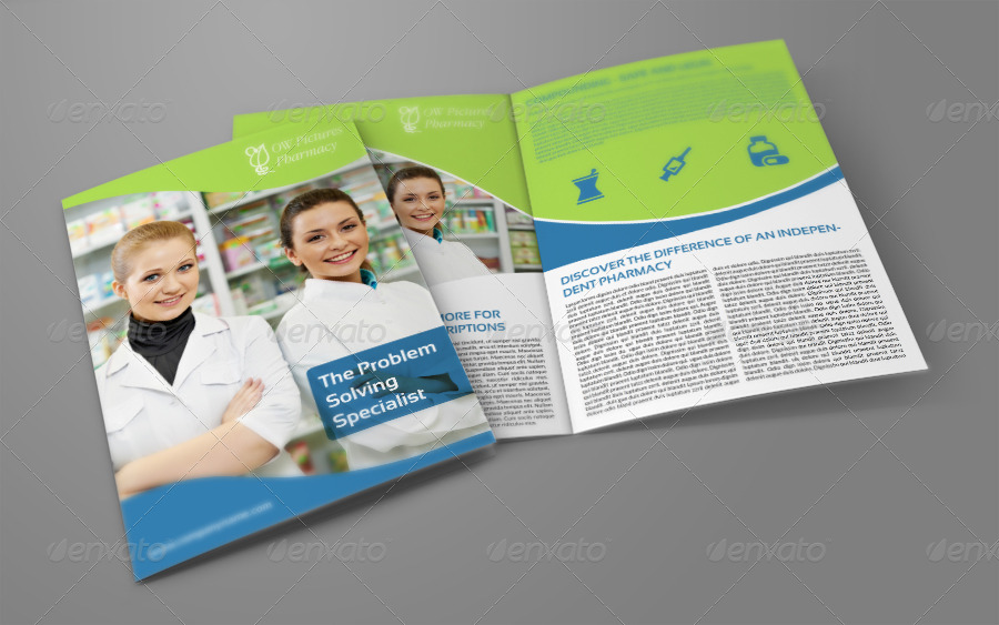 pharmacy brochure template pharmacy brochure bi fold template by owpictures