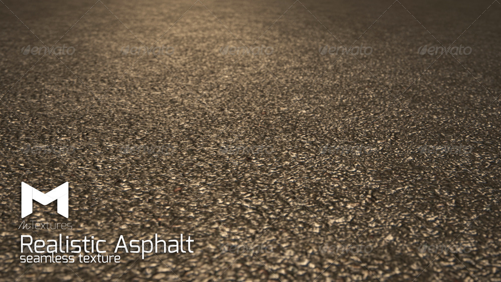 Realistic Asphalt Seamless Texture By Mustapha Redouane
