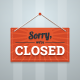 Closed Sign - GraphicRiver Item for Sale