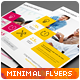 Clean Minimal Multipurpose Flyers vol. 4 - GraphicRiver Item for Sale