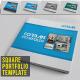 Square Portfolio / Catalog Template - GraphicRiver Item for Sale
