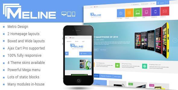 Meline – Responsive Multipurpose Magento Theme